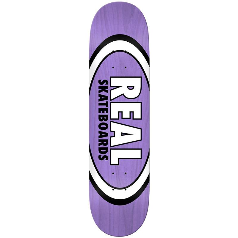 Real Overspray Oval Skateboard Deck 8.5