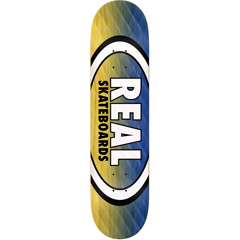 Real Parallel Fade Oval Skateboard Deck 8.06