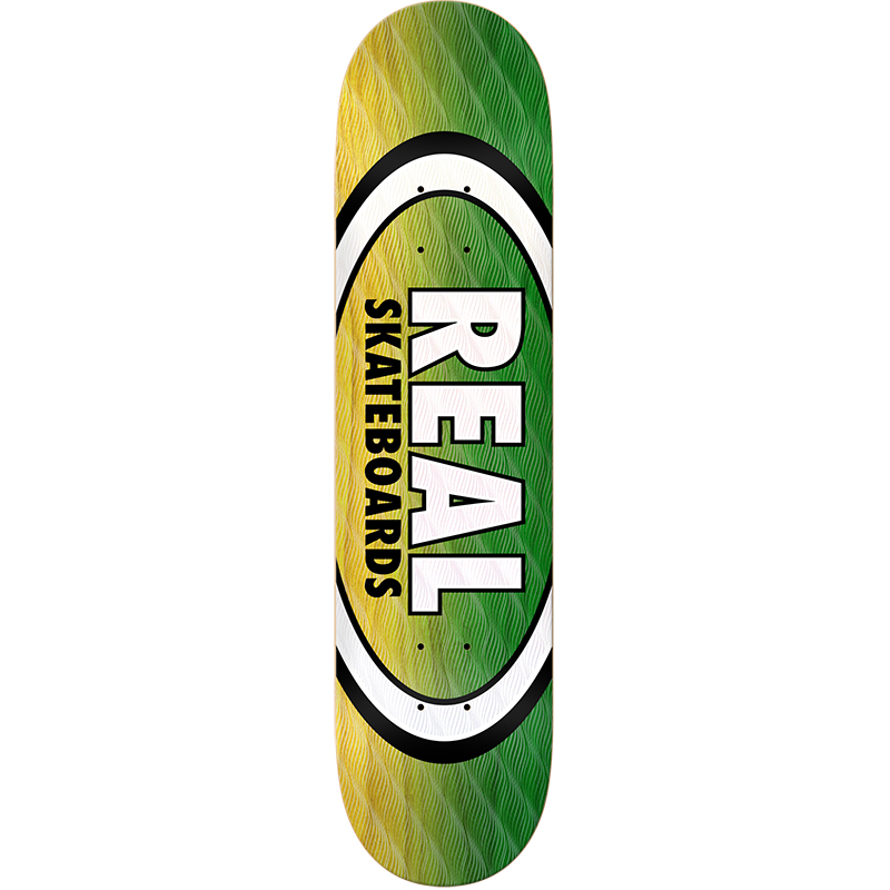 Real Parallel Fade Oval Skateboard Deck 8.38