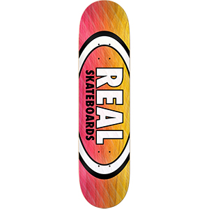 Real Parallel Fade Oval Skateboard Deck 8.5