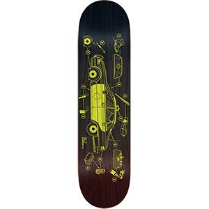 Real Ramondetta Damage Skateboard Deck 8.38