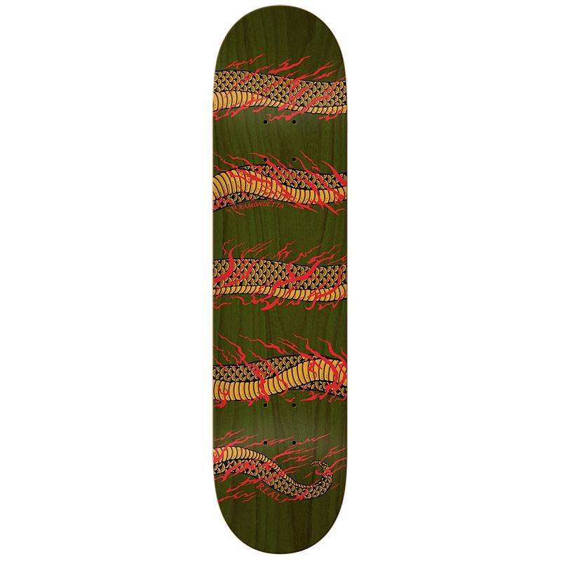 Real Ramondetta Odyseey Skateboard Deck 8.18