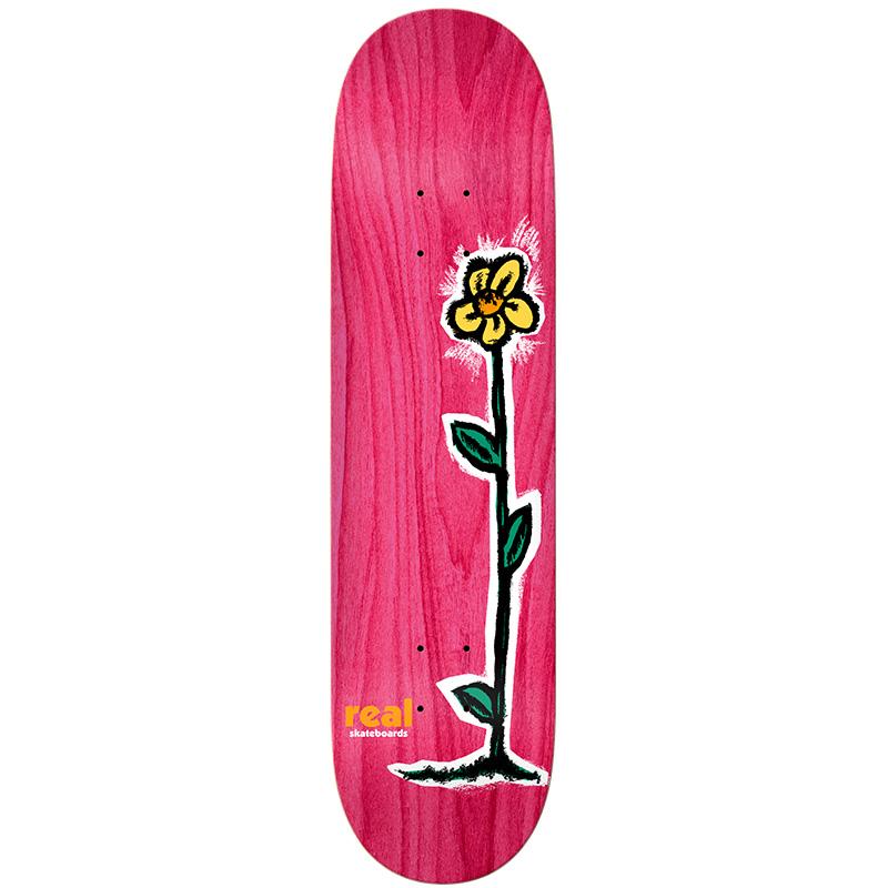 Real Regrowth Skateboard Deck Assorted Veneer 8.25
