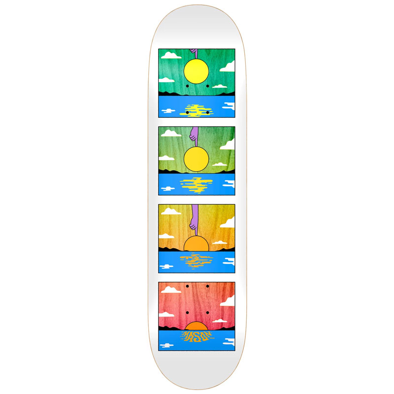 Real Silva Sunset Skateboard Deck 8.06