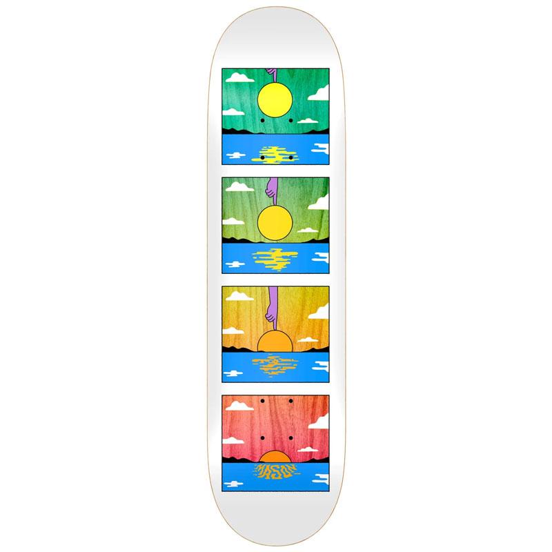 Real Silva Sunset Skateboard Deck 8.38