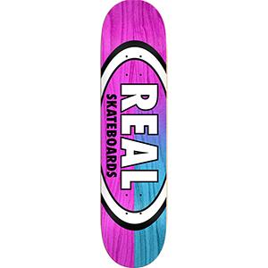 Real Skinny Dip Oval Skateboard Deck 8.06