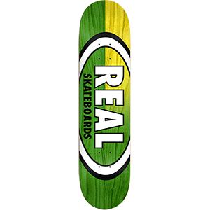 Real Skinny Dip Oval Skateboard Deck 8.25