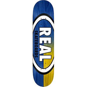 Real Skinny Dip Oval Skateboard Deck 8.5