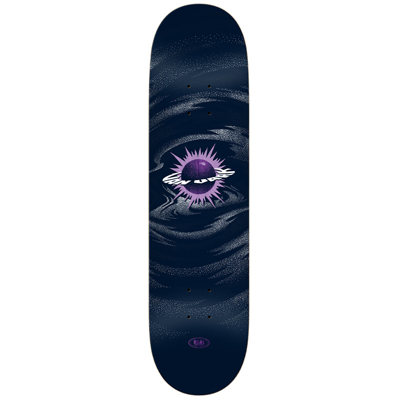 Real Tanner Spaced Out Skateboard Deck Full Shape 8.5
