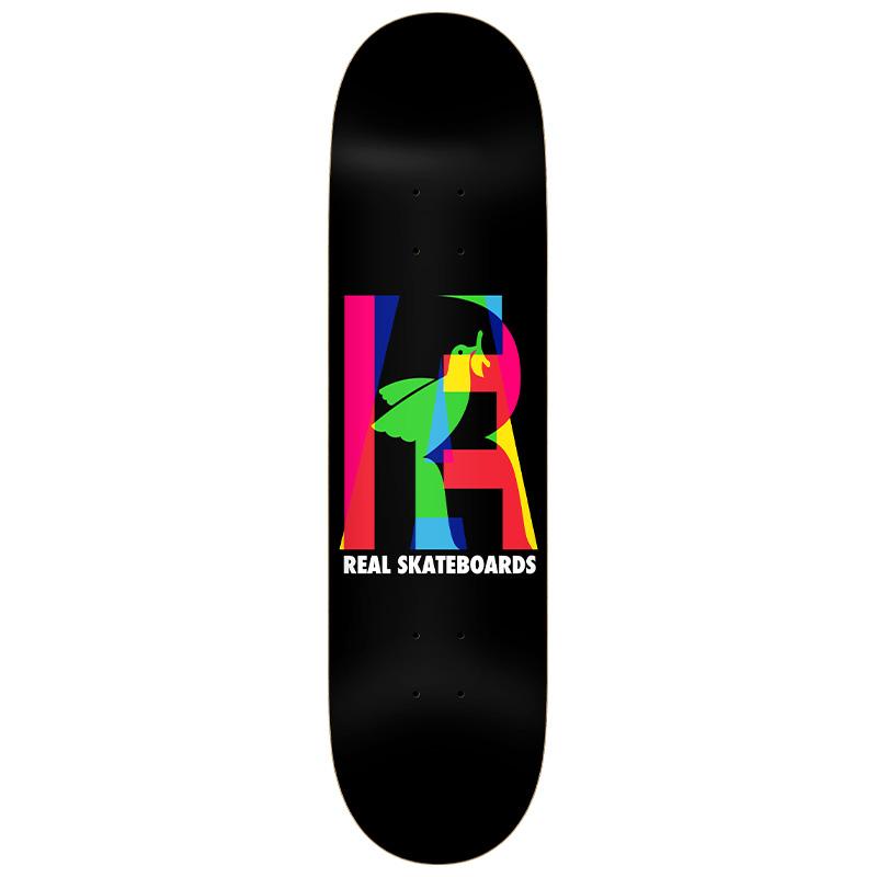 Real Team Eclipsing Skateboard Deck Black 8.06