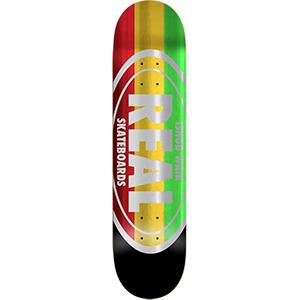 Real Wair Shine Oval Skateboard Deck 8.25