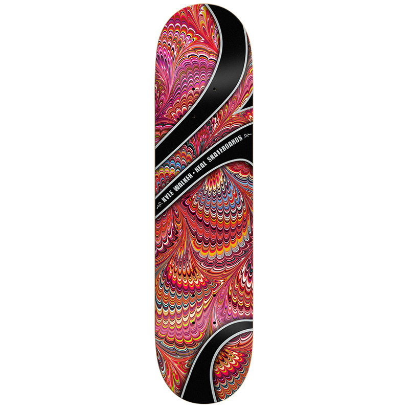 Real Walker Shaaf Tank Skateboard Deck 8.38