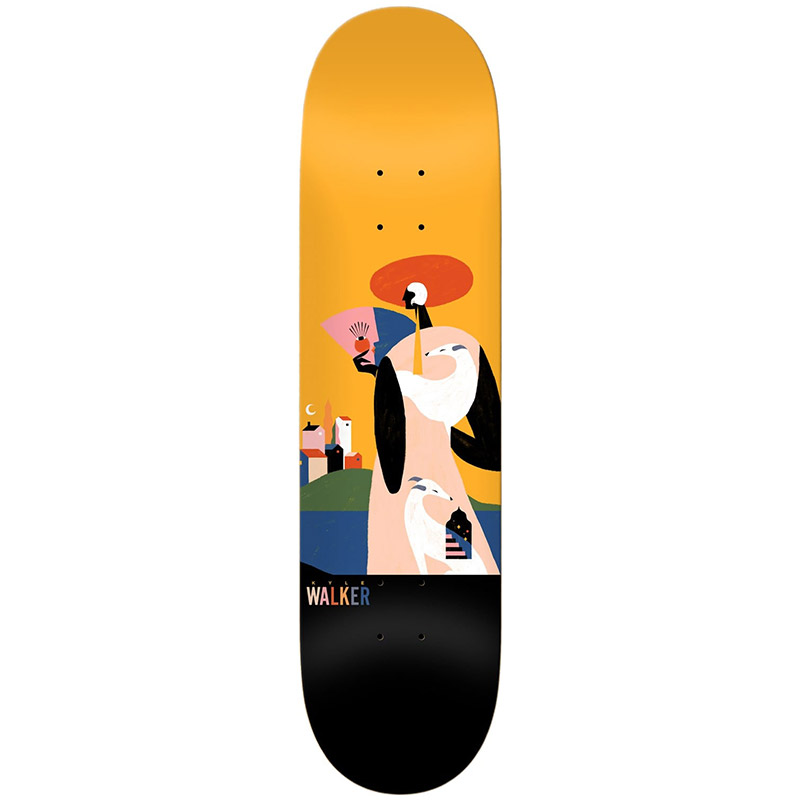 Real Walker X Willian Santiago Skateboard Deck 8.5