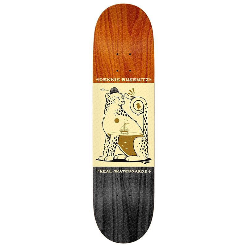 Real x Jeremy Fish Busenitz Full SE Shape Skateboard Deck 8.06