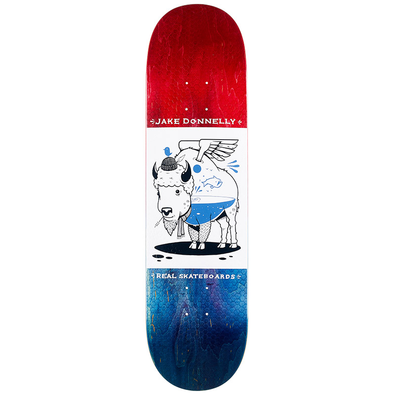 Real x Jeremy Fish Donnely Skateboard Deck 8.25