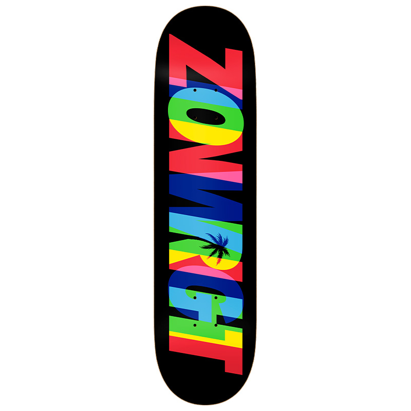 Real Zion Eclipsing Full Se Skateboard Deck Black 8.25