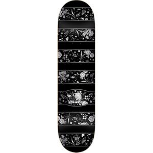 Real Zion Floral Slick Skateboard Deck 8.06
