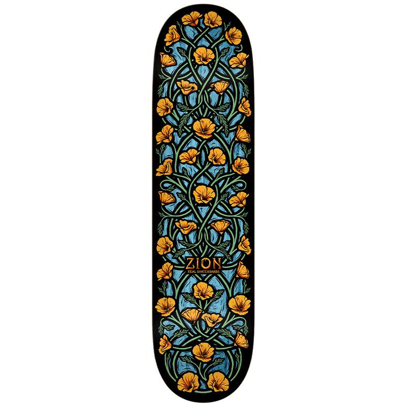 Real Zion Intertwined Skateboard Deck Multi 8.5