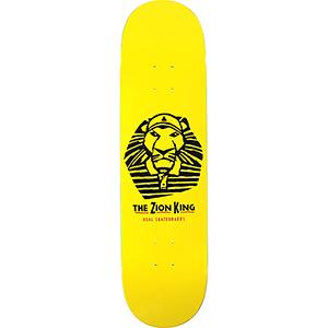 Real Zion King Skateboard Deck 8.25
