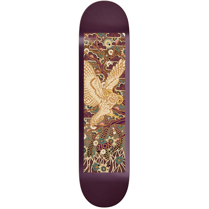 Real Zion Oval Wilson Guest Skateboard Deck 8.5