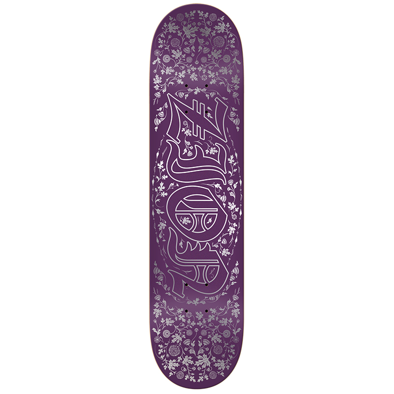 Real Zion Royal Oval Skateboard Deck 8.25