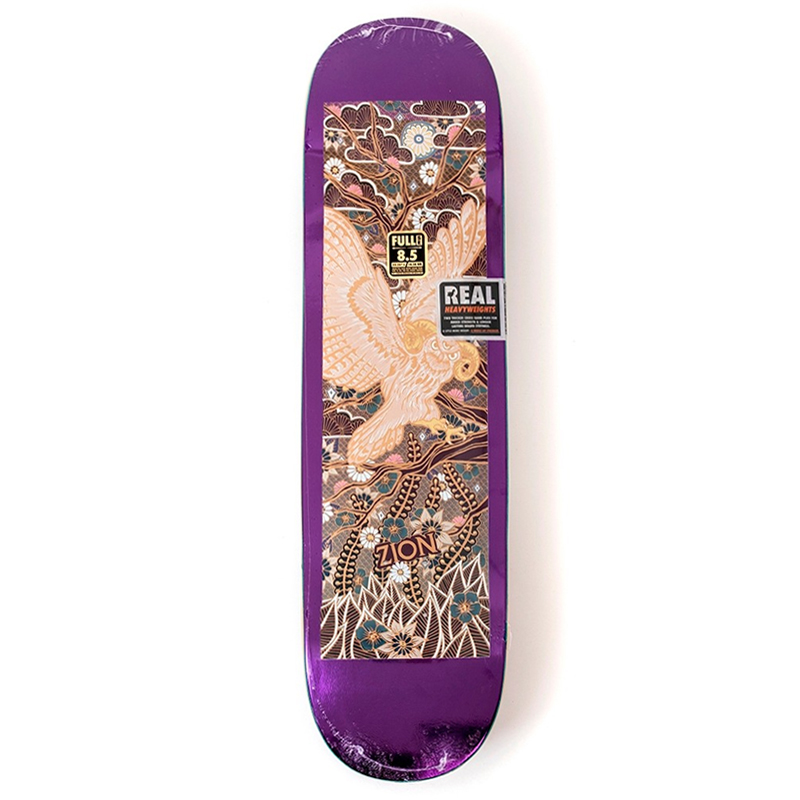 Real Zion Willson Guest Artist Skateboard Deck 8.5