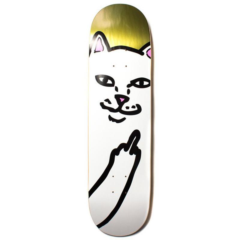 RIPNDIP Lord Nermal Skateboard Deck Gold 8.0