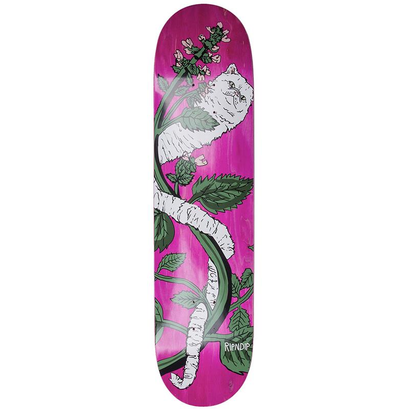RIPNDIP Botanical Skateboard Deck 8.0