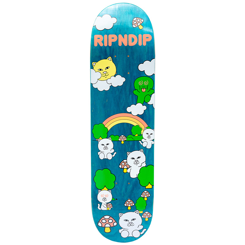 RIPNDIP Buddy System Skateboard Deck 8.0