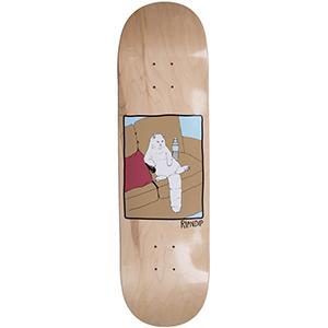 RIPNDIP Couch Potato Skateboard Deck Natural 8.25