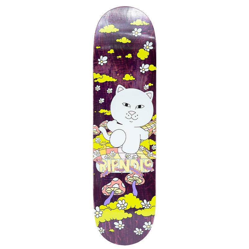 RIPNDIP Day Tripper Skateboard Deck 8.0