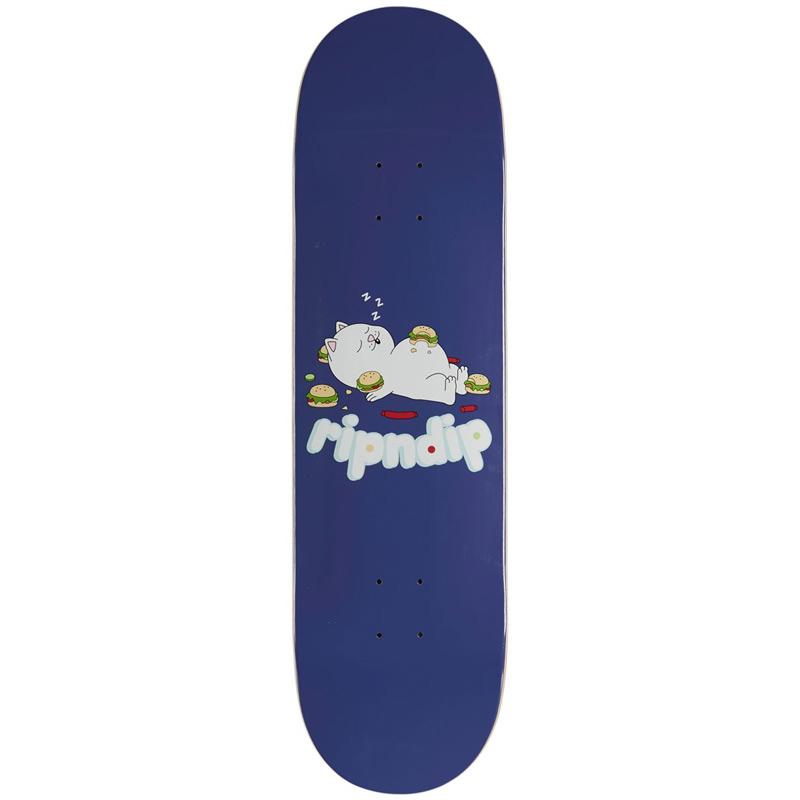 RIPNDIP Fat Hungry Baby Skateboard Deck Purple 8.0