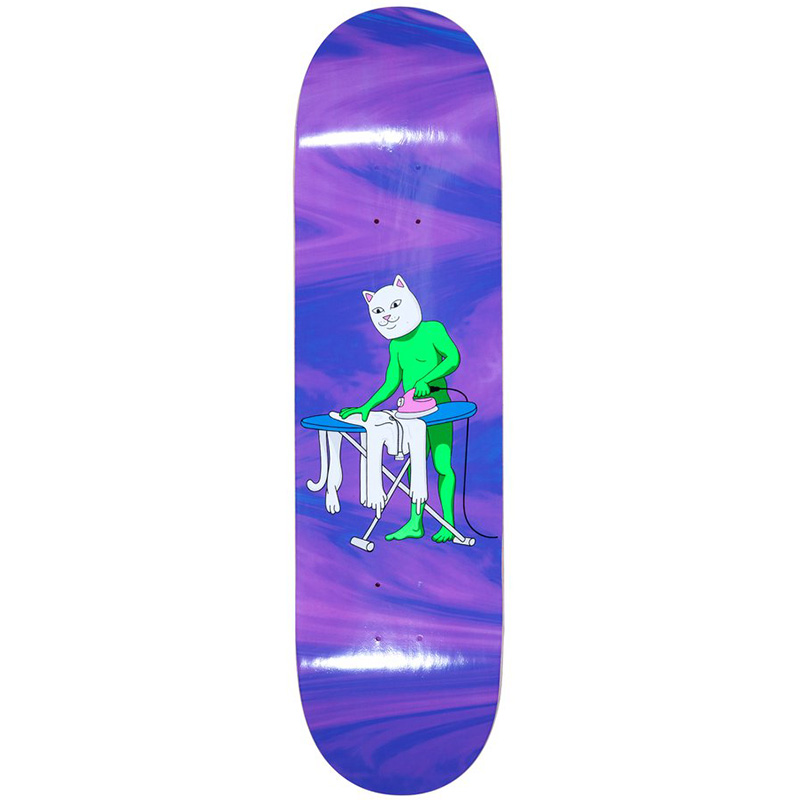 RIPNDIP Laundry Day Skateboard Deck Tie Dye 8.25