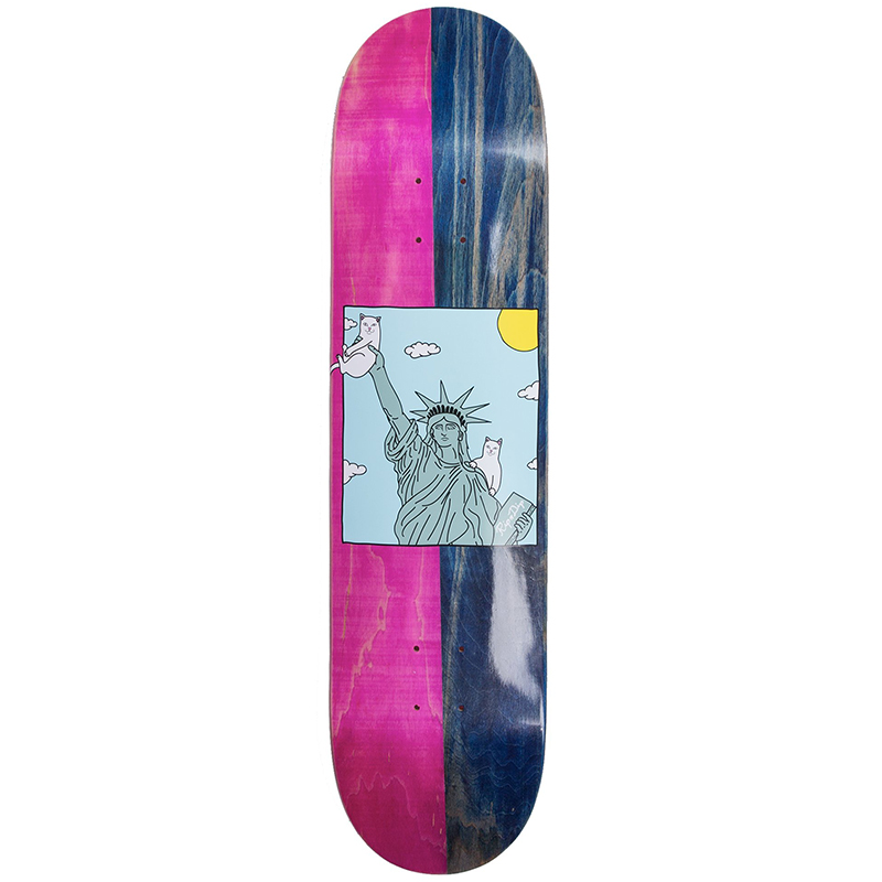 RIPNDIP Liberty Skateboard Deck 8.0