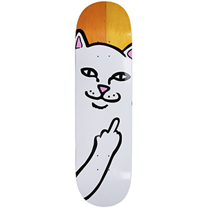 RIPNDIP Lord Nermal Skateboard Deck Split Veneer 8.5