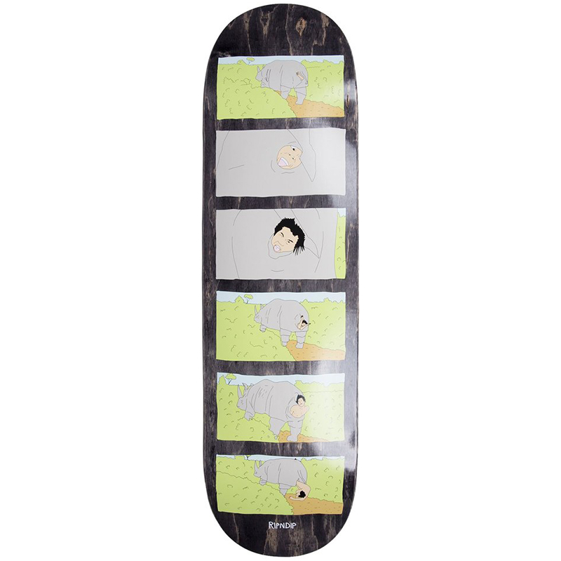 RIPNDIP Nature Calls Skateboard Deck Black 8.0