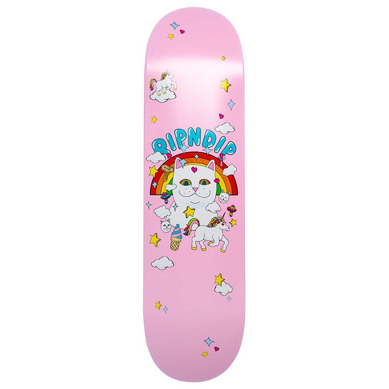 RIPNDIP Nermland Skateboard Deck Pink 8.0
