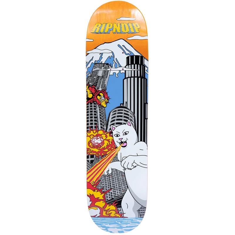 RIPNDIP Nermzilla Skateboard Deck 8.0