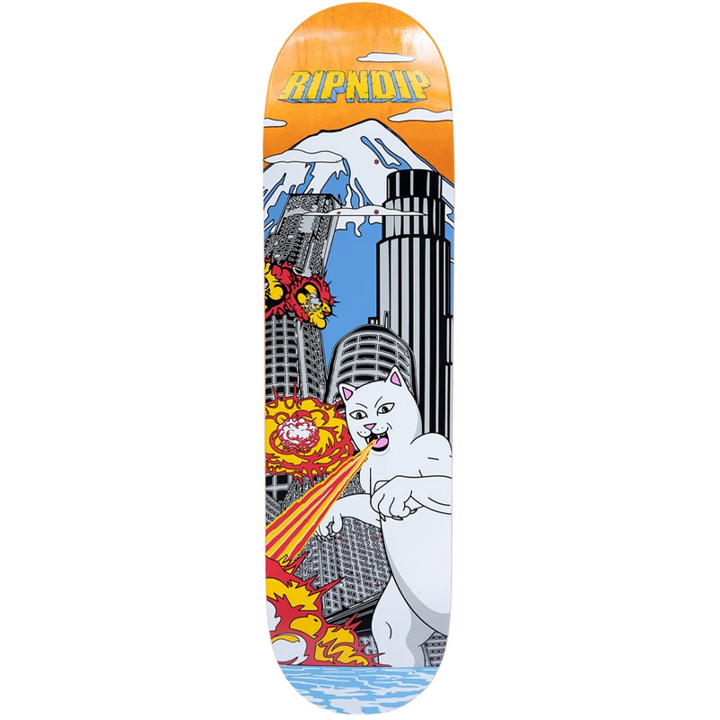 RIPNDIP Nermzilla Skateboard Deck 8.5