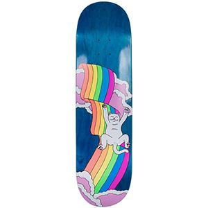 RIPNDIP Rainbow Skateboard Deck Blue 8.25