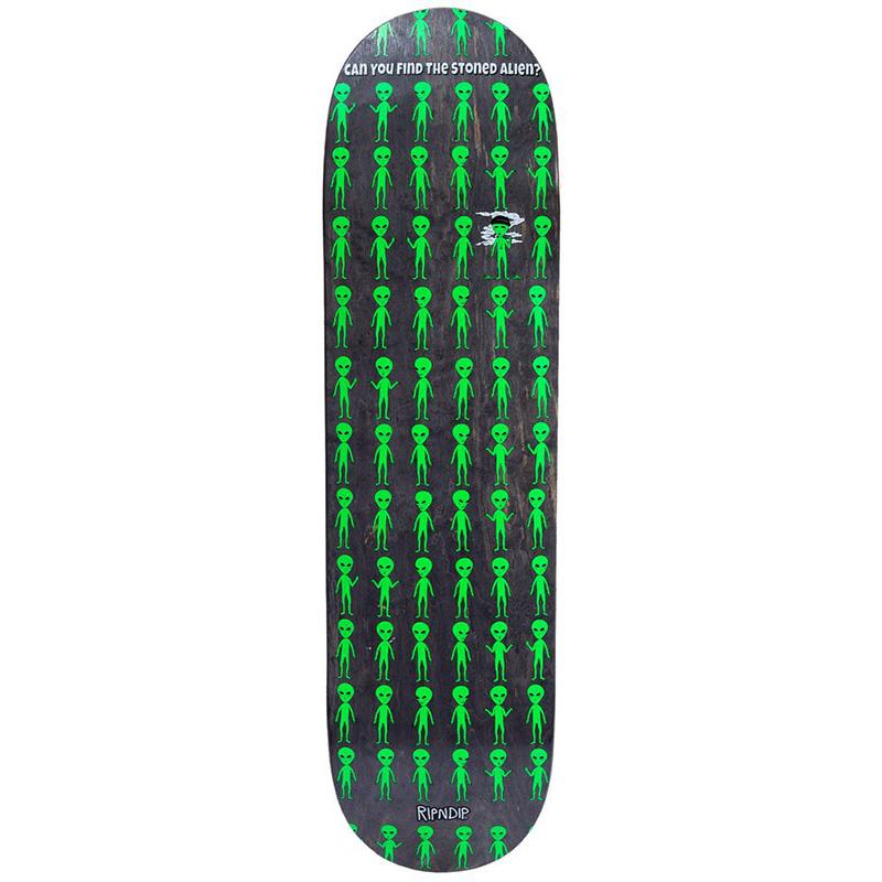RIPNDIP Stoned Again Skateboard Deck Black 8.0