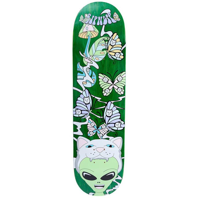 RIPNDIP Think Factory Skateboard Deck Green 8.25