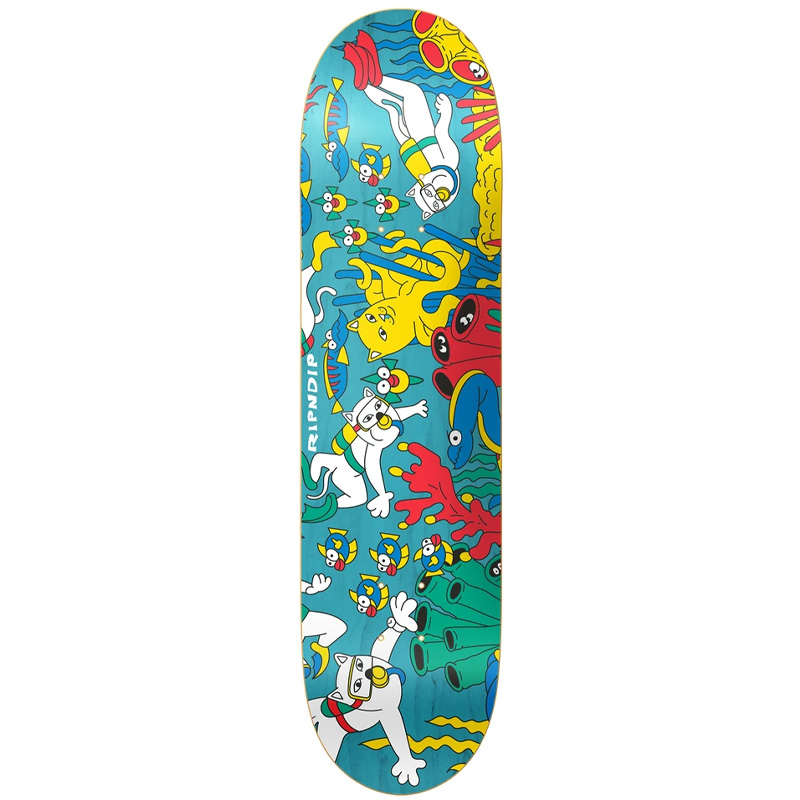 RIPNDIP Under The Sea Skateboard Deck 8.25