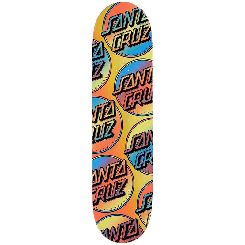 Santa Cruz Contra Allover Skateboard Deck 8.25