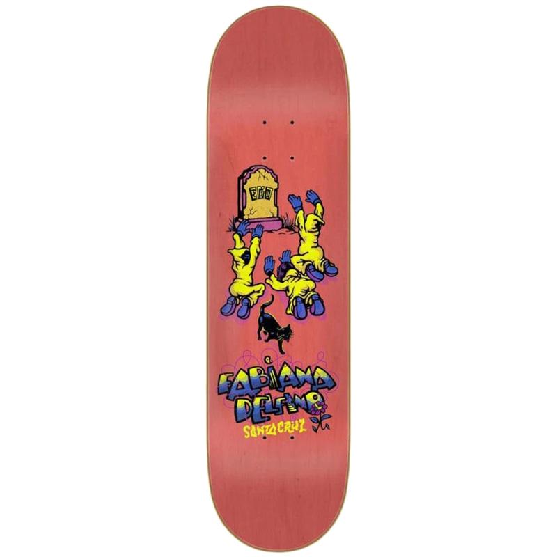 Santa Cruz Delfino Ego Skateboard Deck 8.25