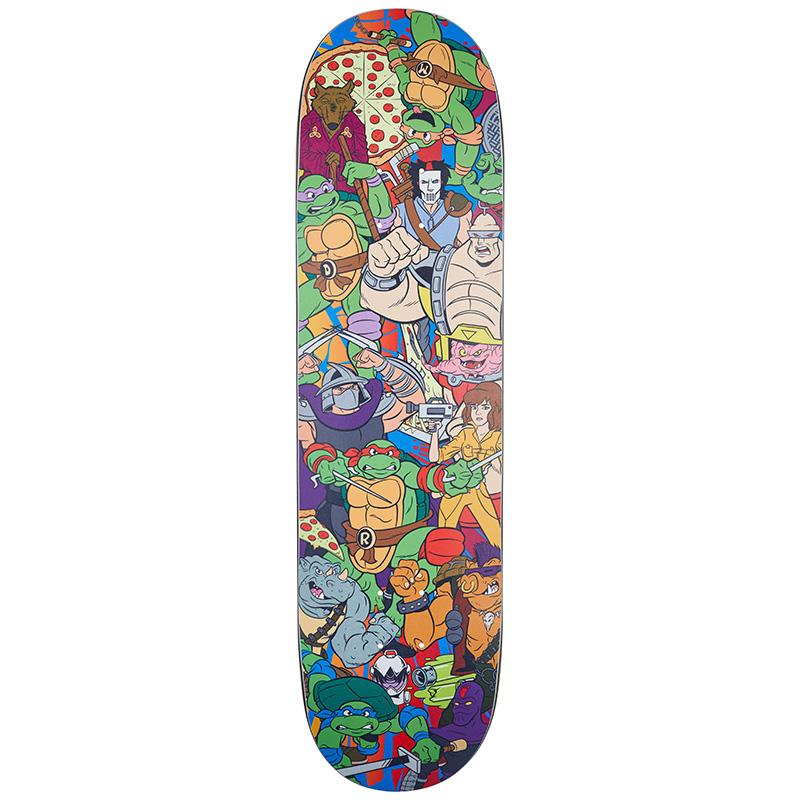 Santa Cruz x TMNT Crew Everslick Skateboard Deck 8.0