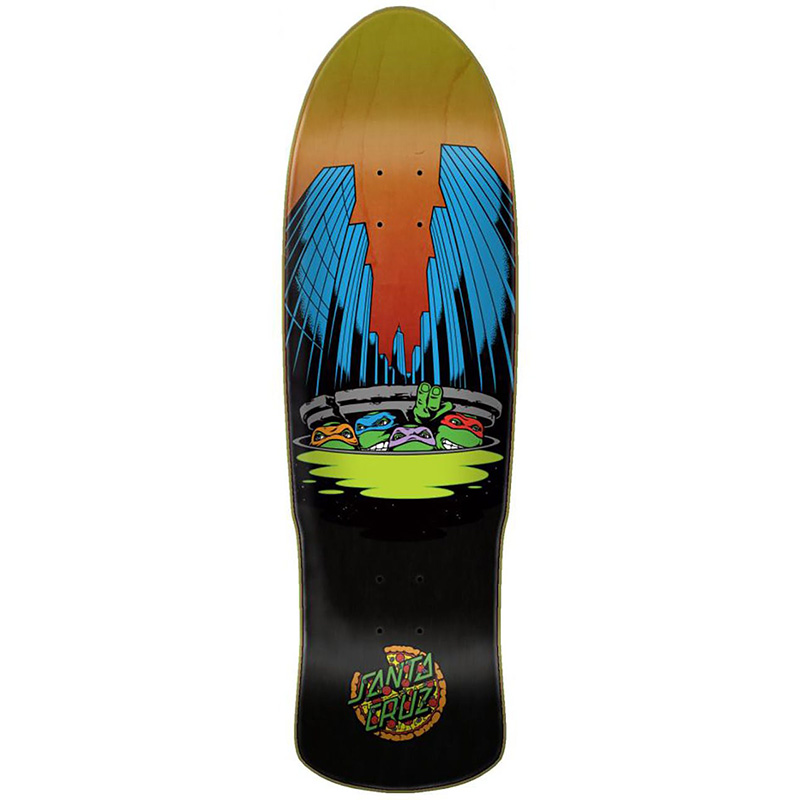 Santa Cruz x TMNT Ninja Turtles Preissue Skateboard Deck 9.42