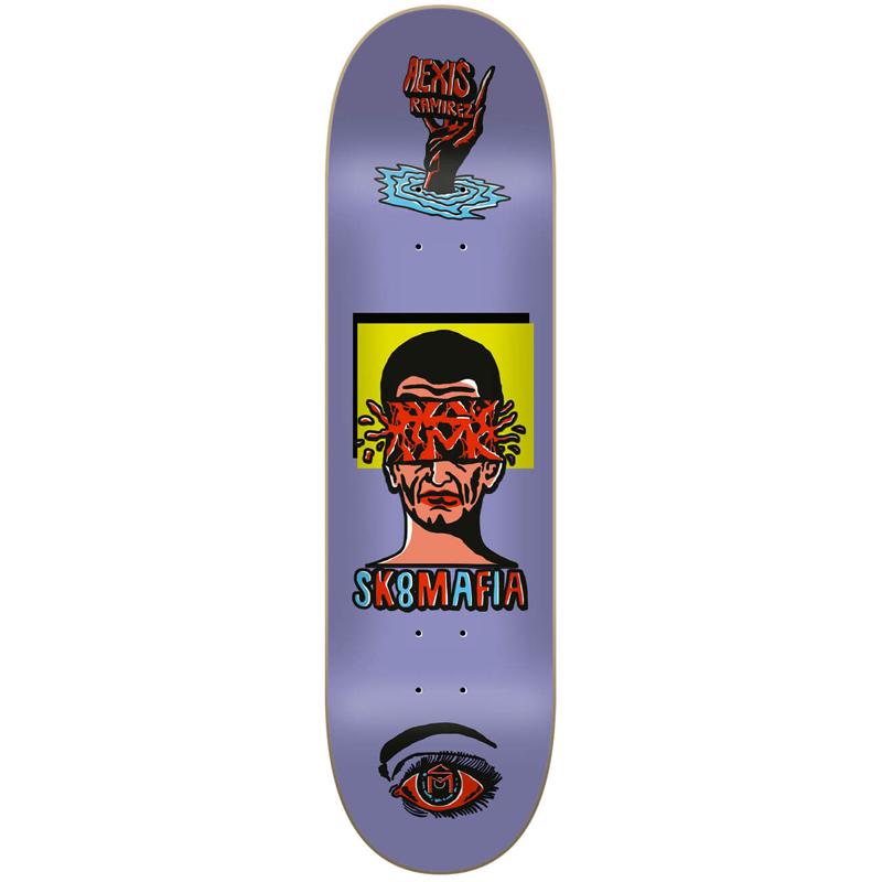 Sk8Mafia Alexis Ramirez Ward Skateboard Deck 8.5