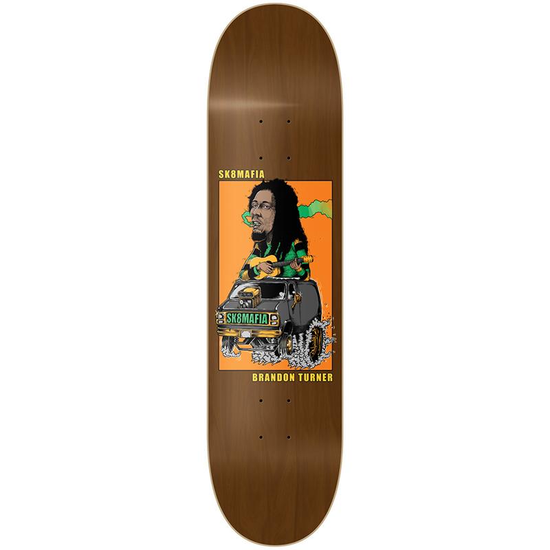 Sk8mafia Brandon Turner Legends II Skateboard Deck 8.1
