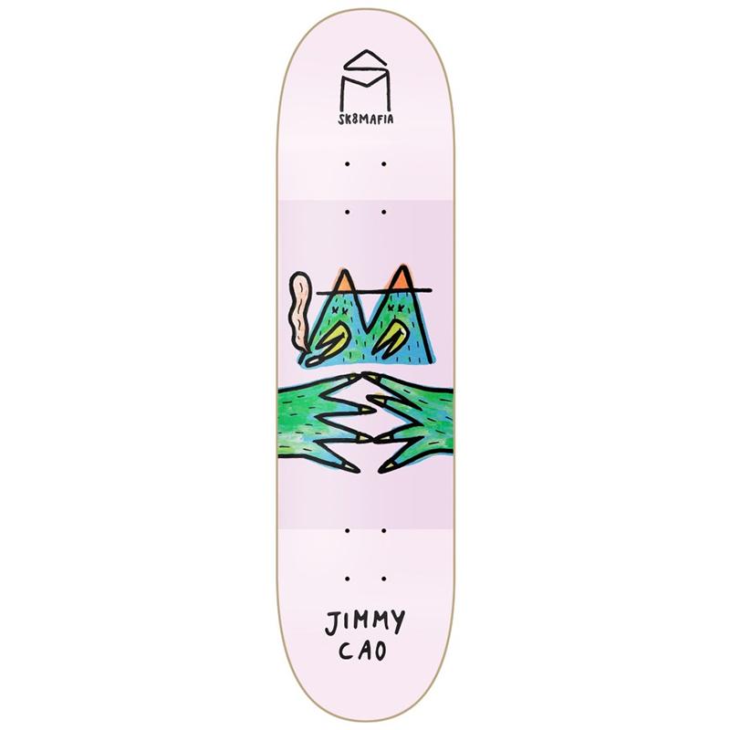 Sk8Mafia Cao LB x SM Skateboard Deck 8.0